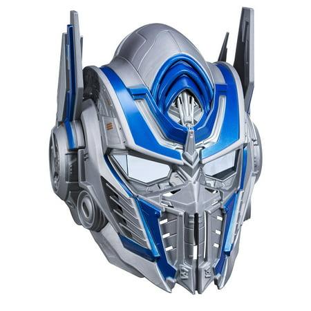 Transformers: The Last Knight Optimus Prime Voice Changer Helmet](Professional Halloween Voice Changer)