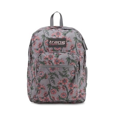 Trans by Jansport 17u0022 SuperMax Backpack - Coral Botanical