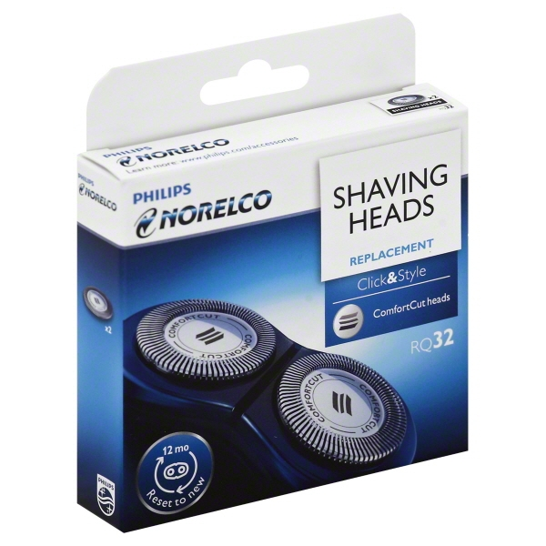 Philips Norelco RQ32 Replacement Shaving Heads, 2 count