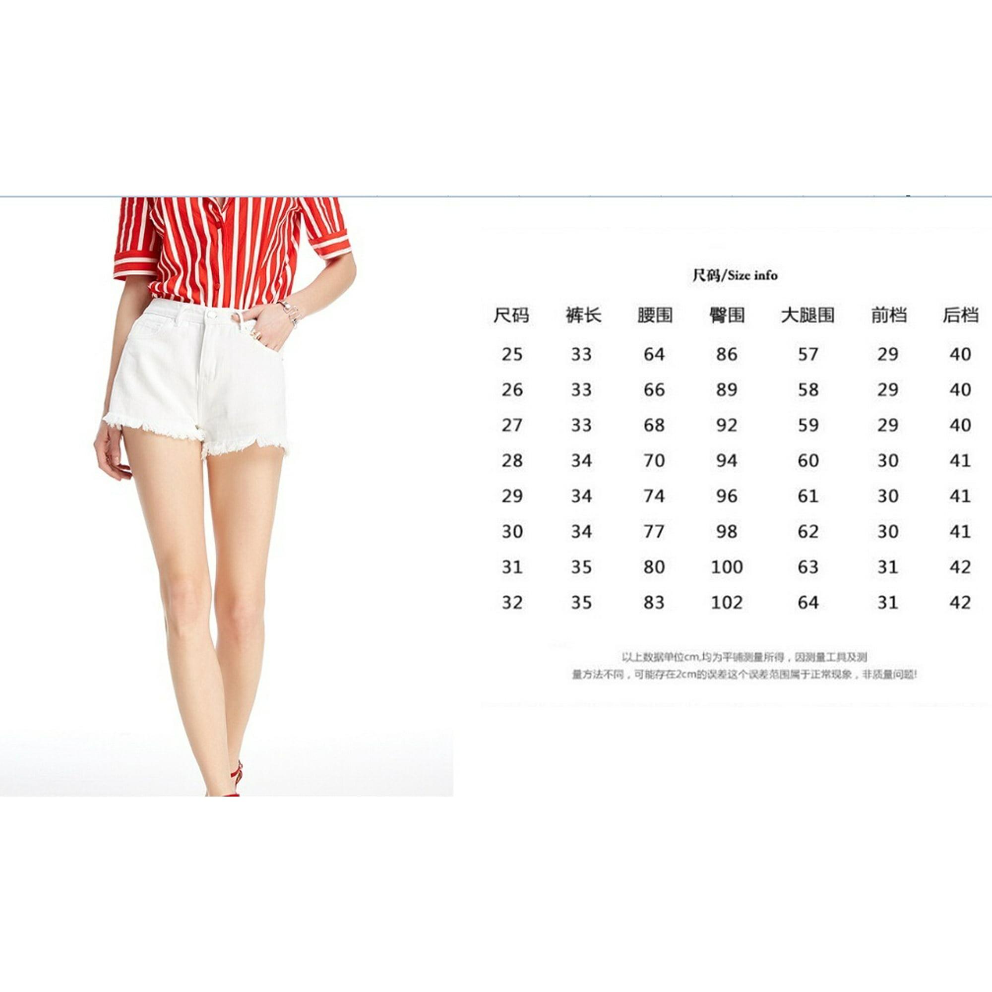 Hot Fashion Emmababy Women Girls Student High Waist Denim Beach Jeans Pants Hot Short Casual Walmart Canada