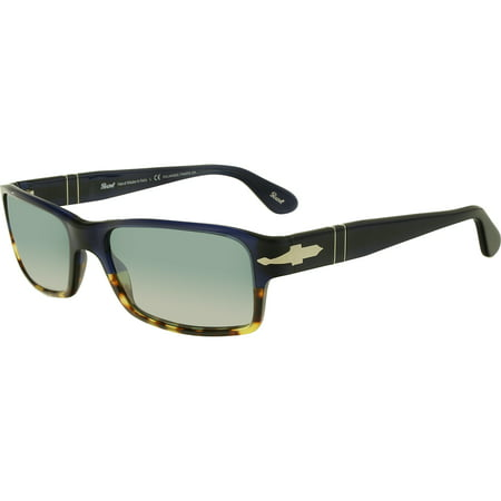 PERSOL Sunglasses PO2747S 955/4N Havana Blue 57MM