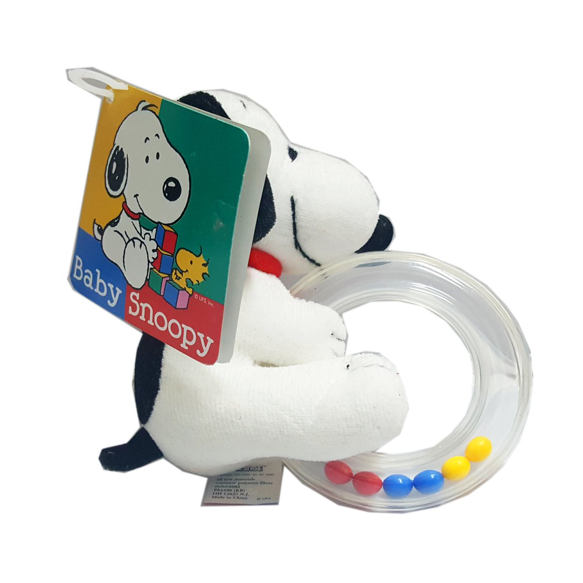 Peanuts Baby Snoopy Rattle Ring by Peanuts