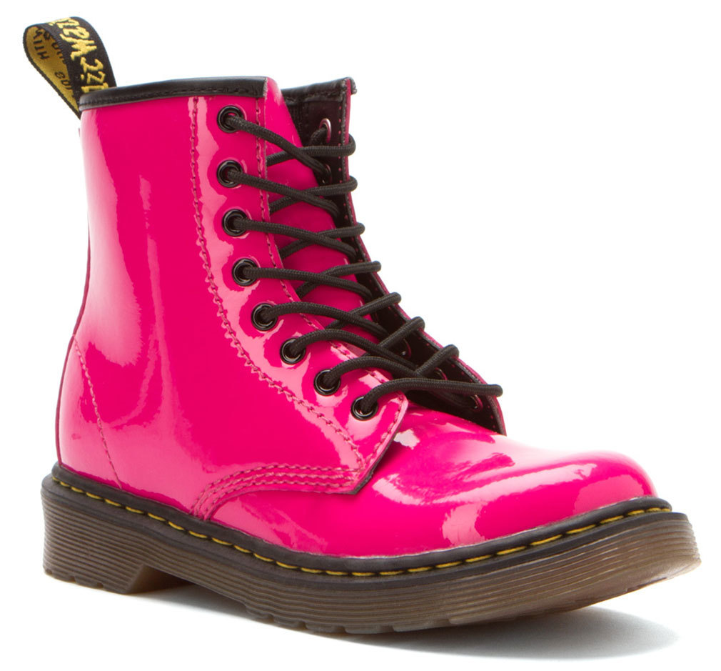 Dr. Martens Girl's DELANY Pink Boots 3 M UK 4 M by Dr. MARTENS