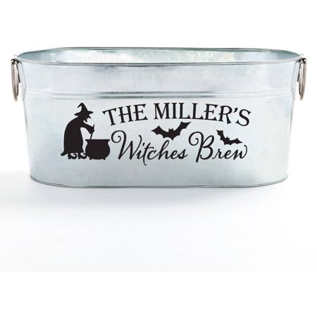 Personalized Beverage Tub - Halloween Witches Brew Supply](Halloween Grillz)