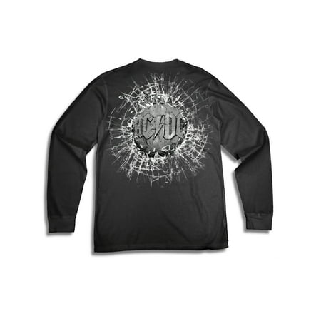 Men's AC/DC Ballbreaker Rock and Roll Logo Long Sleeve Graphic T Shirt