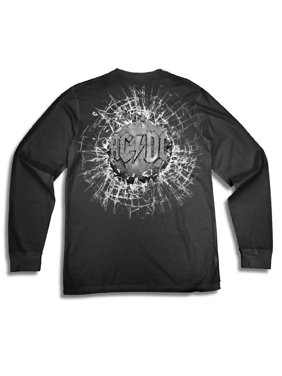 6398c312d Product Image AC/DC Men's BallBreaker Rock and Roll Logo Front and Back  long Sleeve Graphic Tee