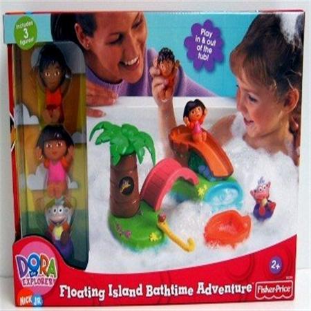 Floating Island Bath Time Adventure