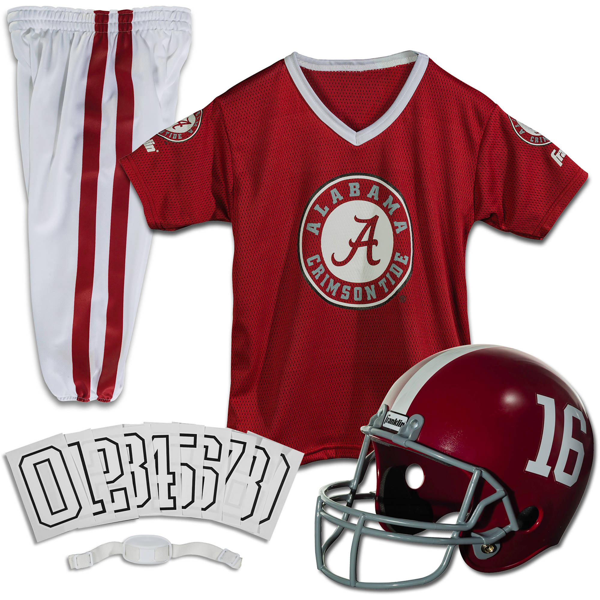 Franklin Sports NCAA Uniform Set, Alabama
