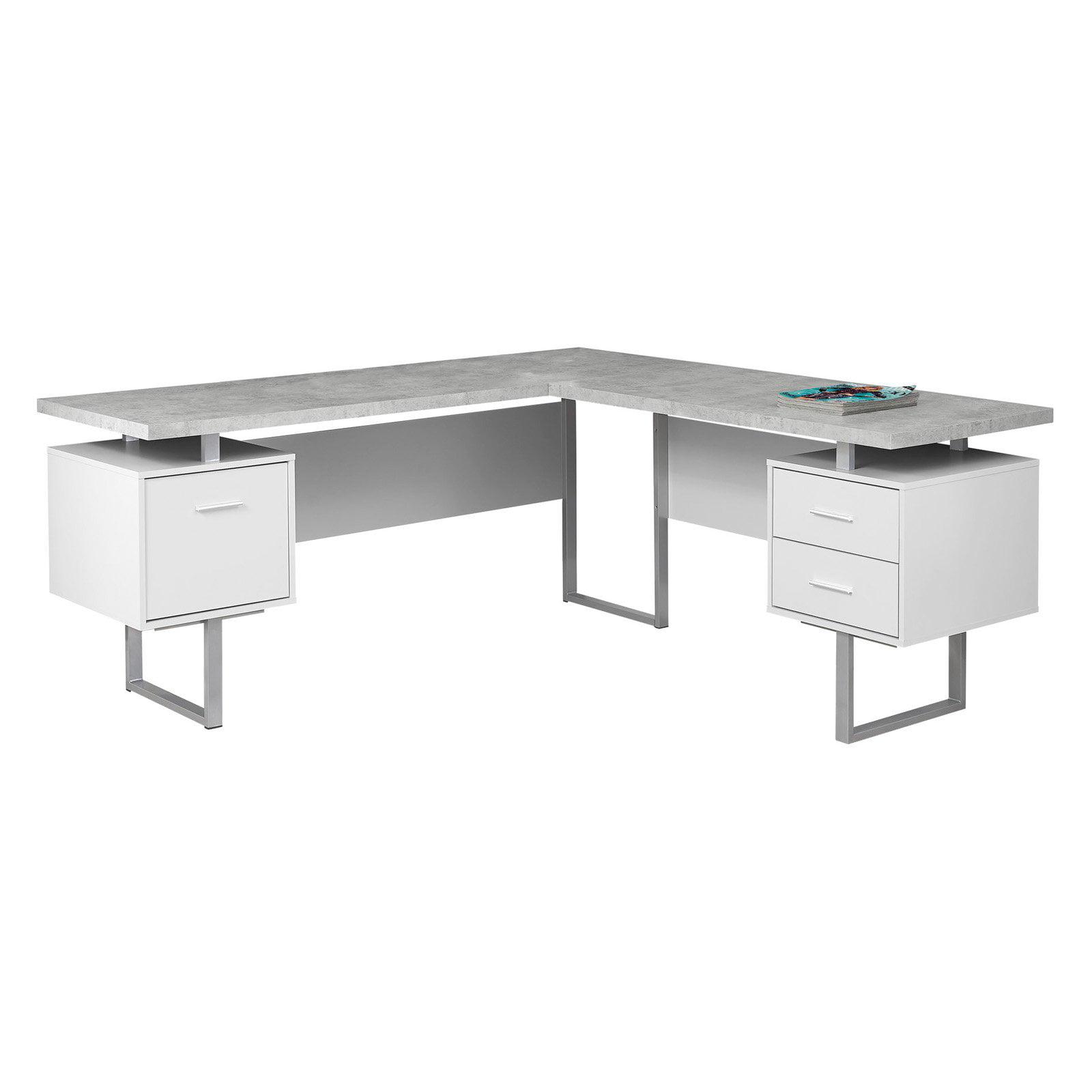 Monarch Specialties 70 In L Shaped Computer Desk