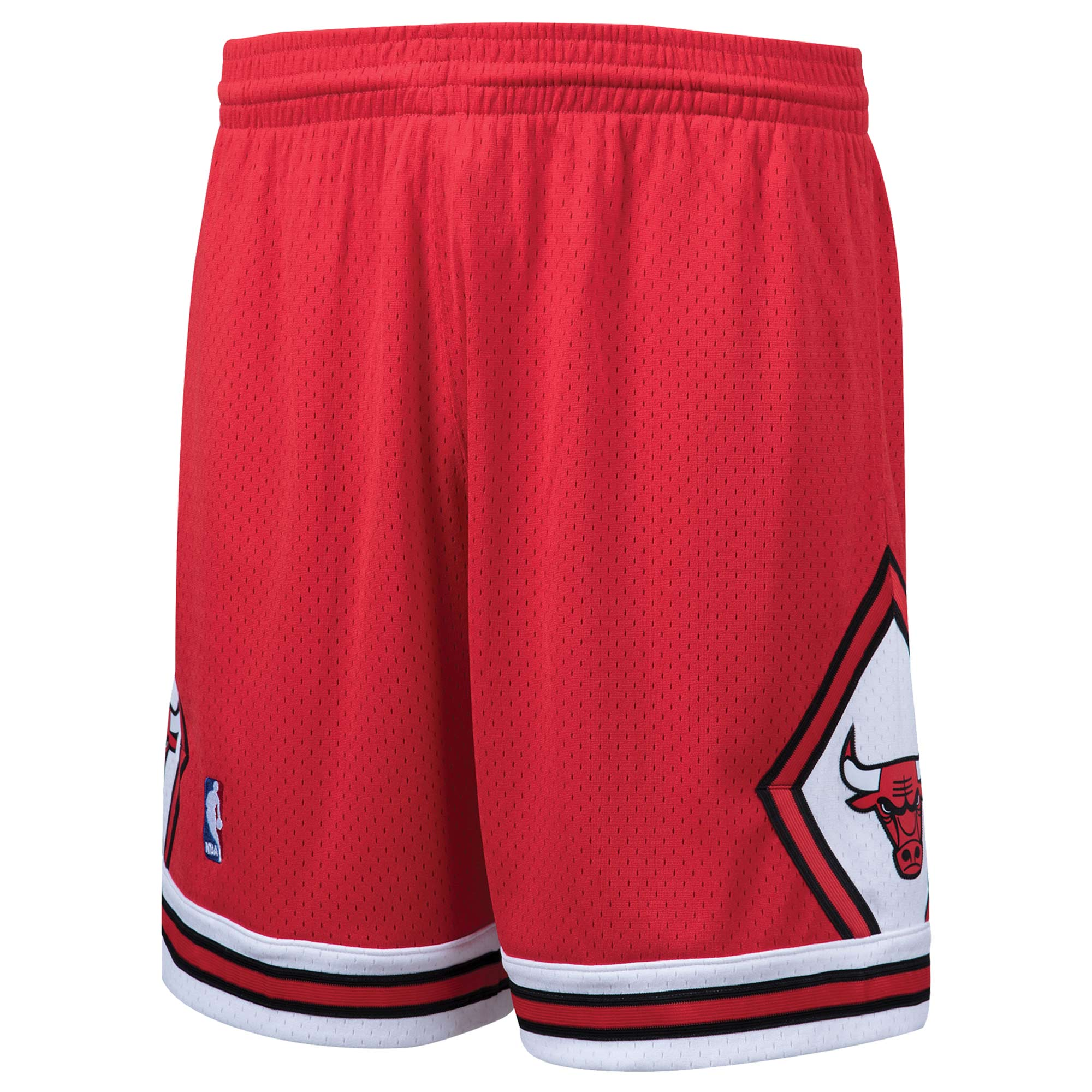 Chicago Bulls Mitchell & Ness Hardwood Classics Swingman Shorts - Red