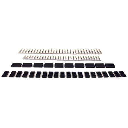 10 SETS JR / Hitec / Spektrum Style Servo Connector Plugs Male / Female Pairs - Apex RC Products #1505