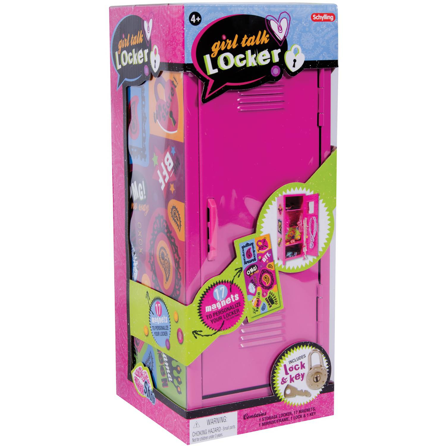 Schylling Girl Talk Locker With Magnets Walmart Com