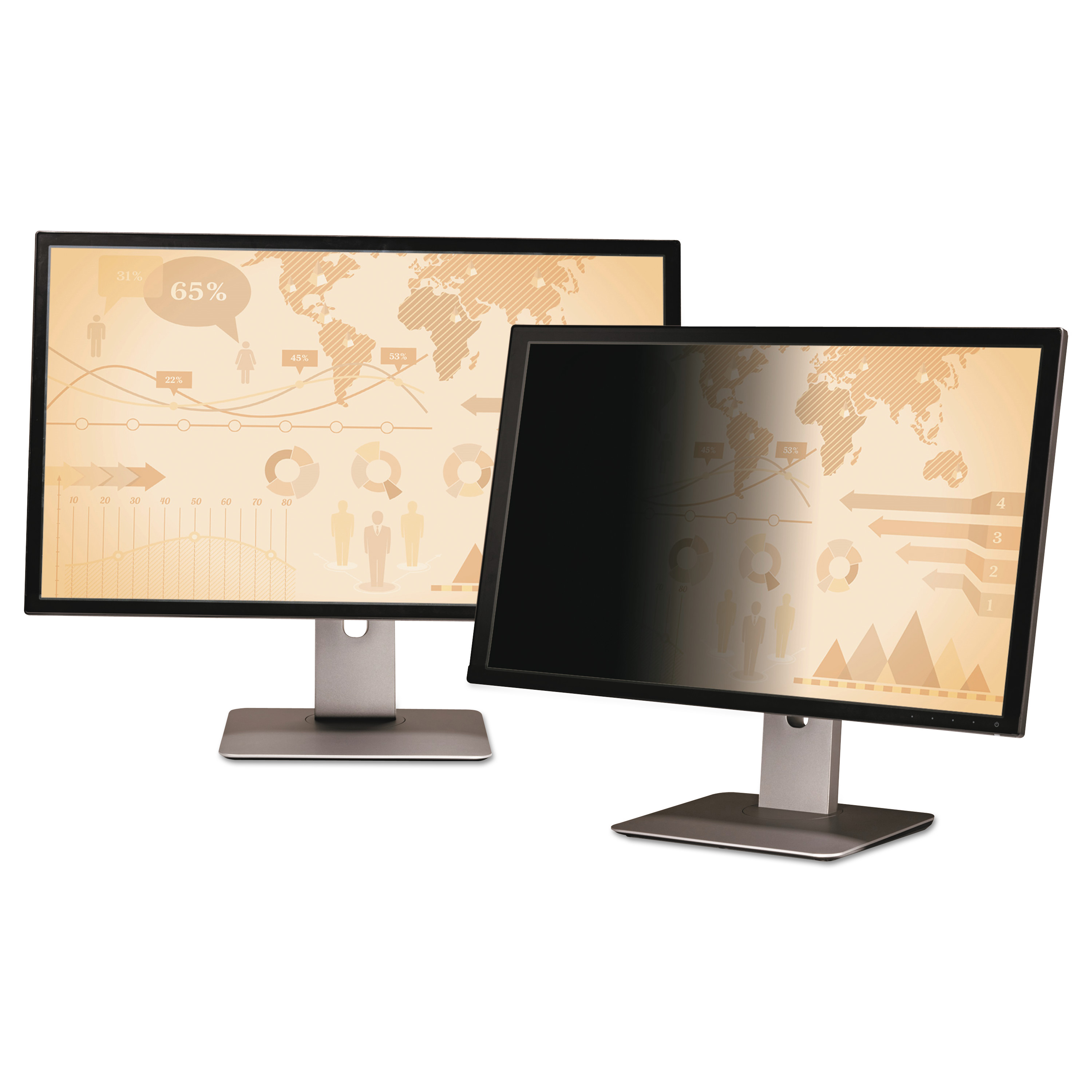 3M Frameless Notebook Monitor Privacy Filters for 34 Widescreen Monitor, 21:9 by 3M