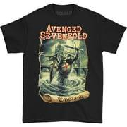 Avenged Sevenfold Men's England T-shirt Small Black