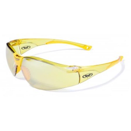 Colored Frame Safety Glasses : Safety Cruisin Color Frame Safety Glasses With Yellow Tint ...