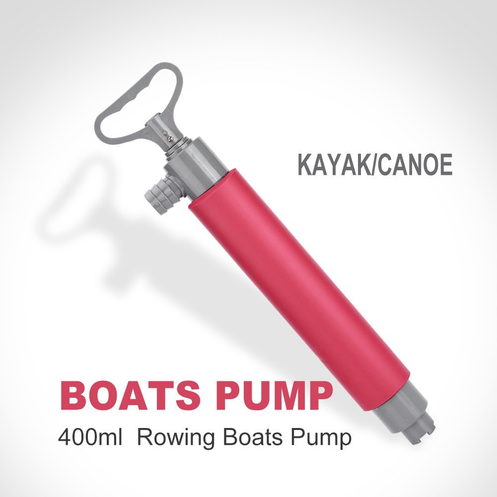 TMISHION Kayak Hand Pump Floating Manual Bilge Water Pump Kayak Canoe Accessories For... by