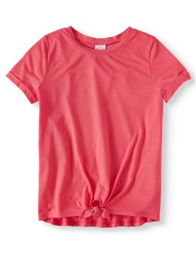 ce4367687b20e Product Image Short Sleeve Tie Front Tee (Little Girls