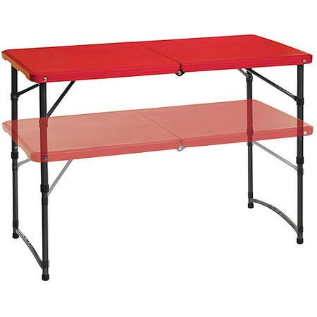 Mainstays Adjustable Folding Tailgating Table Set Of 2