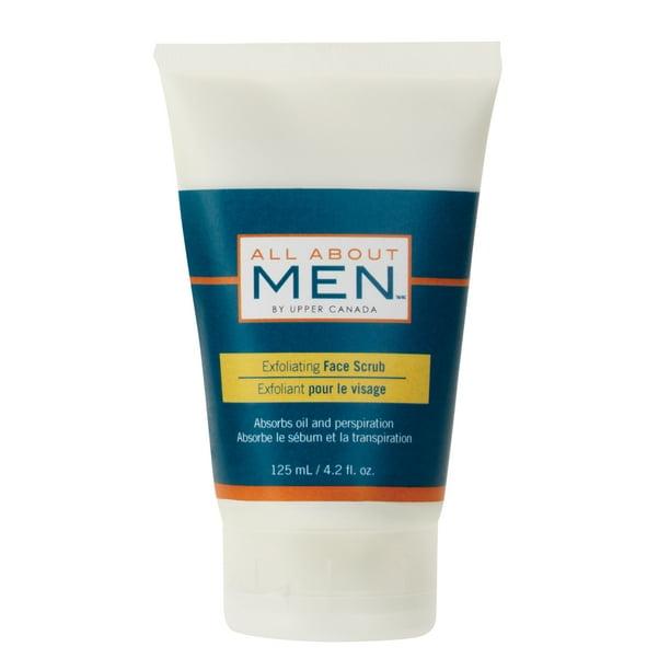 All About Men Exfoliating Face Scrub 4 2 Fl Oz Walmart Com