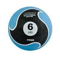 6 lbs Rhino Elite Medicine Ball, Blue