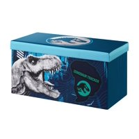 Jurassic World Collapsible Storage Sit and Store Bench