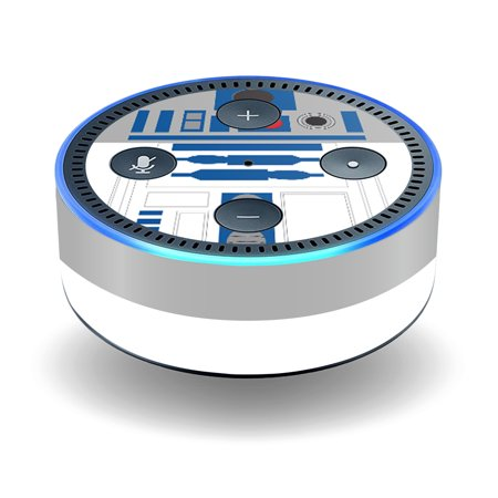 Skin Decal Wrap For Amazon Echo Dot  2Nd Generation  Stickers Cyber Bot