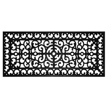 Logo Runner Mat - Home & More Rubber Doormat