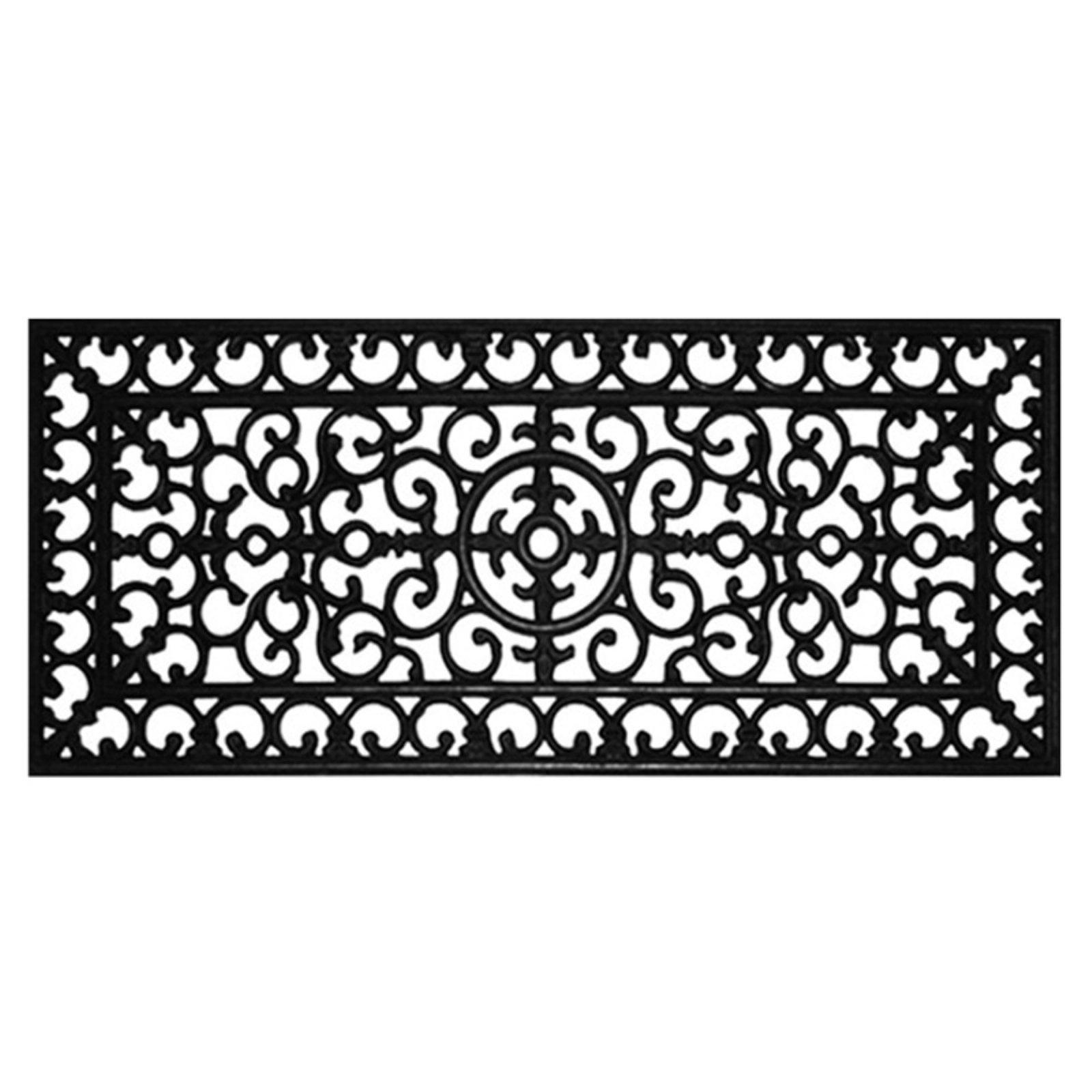 Home & More Rubber Doormat