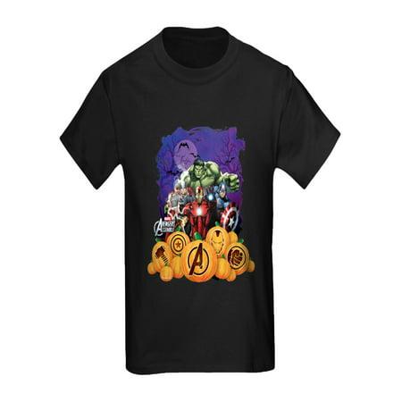 CafePress - Avengers Assemble Halloween 2 - Kids Dark - Kids Avengers