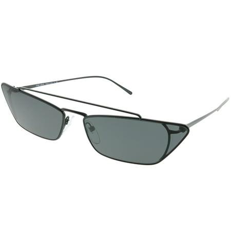 Prada PR 64US 1AB5S0 Women Cat-Eye Sunglasses