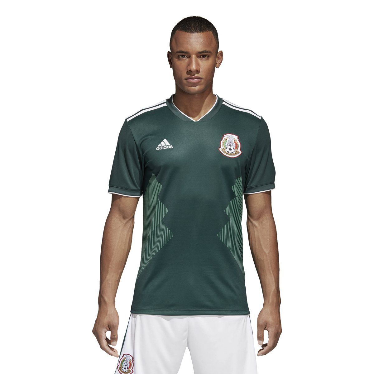 adidas Men's Mexico Home Soccer Jersey   World Cup 2018