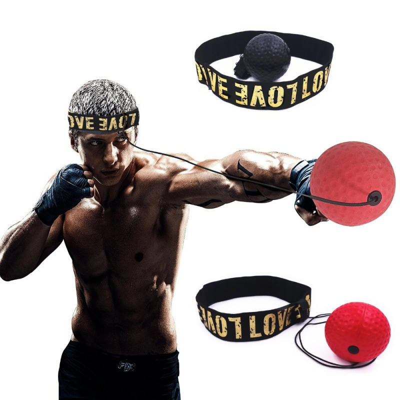VALANDRES React Reflex Ball for Kids Bundle Boxing Head Ball with Headband and