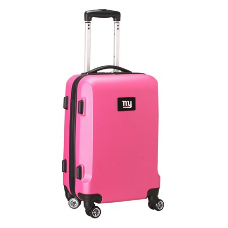 "New York Giants 20"" 8-Wheel Hardcase Spinner Carry-On - Pink"
