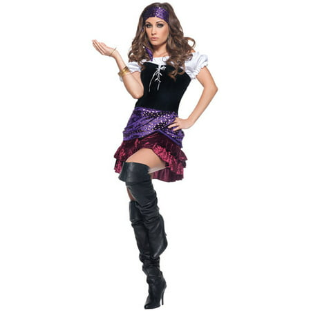 Miss Fortune Adult Halloween Costume](Fortune Tellers Costumes)