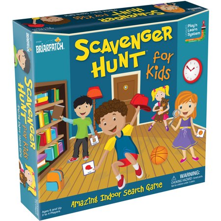 Scavenger Hunt for Kids Board Game (Best Scavenger Hunt Items)