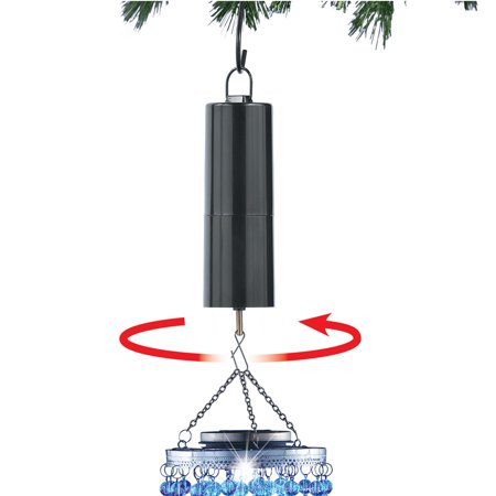 Rotating Ornament Spinner and Hook for Holiday Display - Perfect for Indoor or Outdoor Use Anywhere