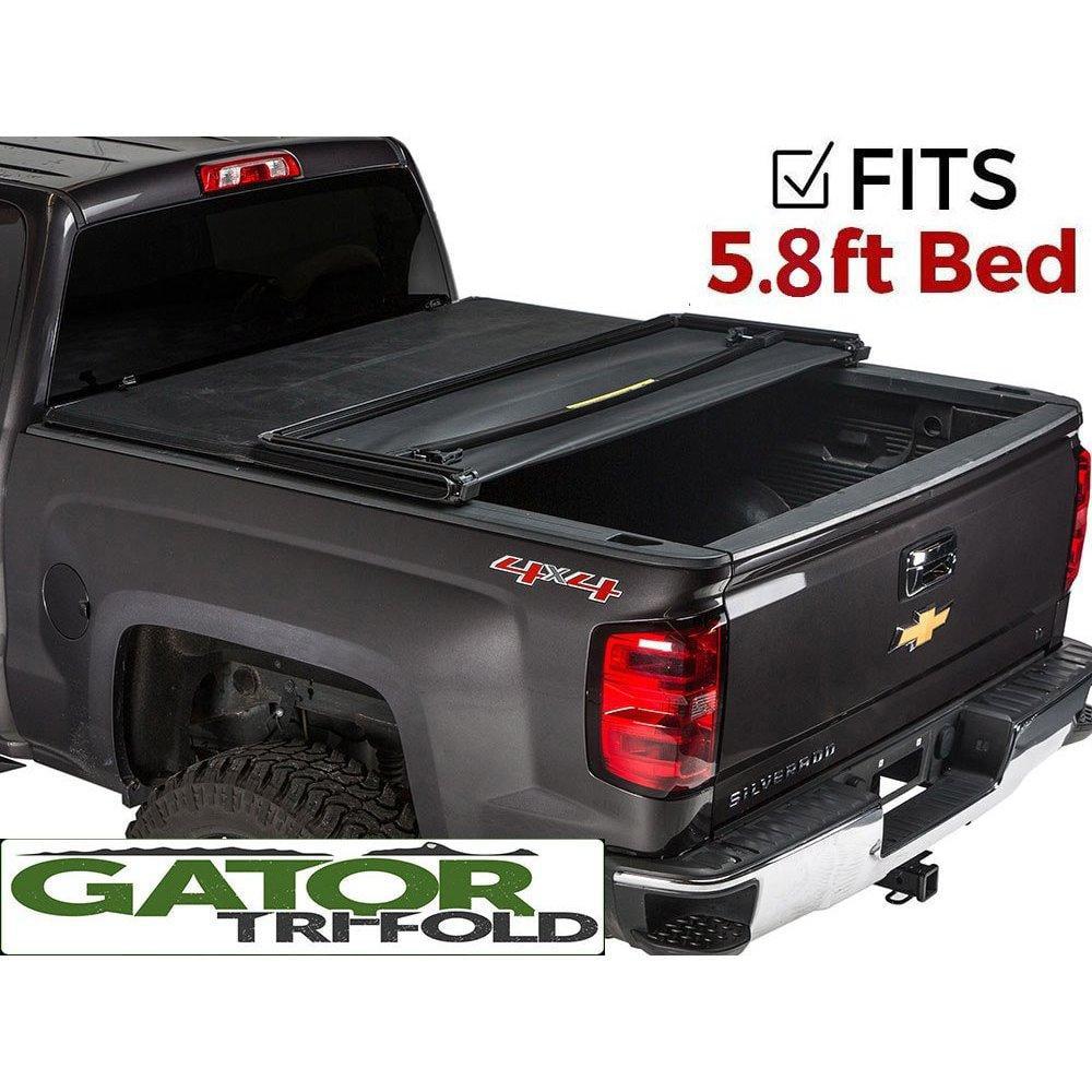 Gator Tri Fold Tonneau Truck Bed Cover Chevy Silverado Gmc