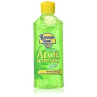 4 Pack - Banana Boat Soothing Aloe After Sun Gel, 16 oz