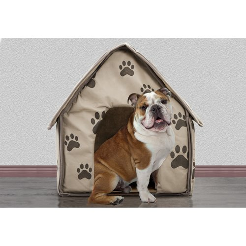 Tucker Murphy Pet Colonel Portable Decorative Comfortable Hooded Dog Bed