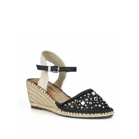 Nature Breeze Lace Women's Espadrille Wedge in