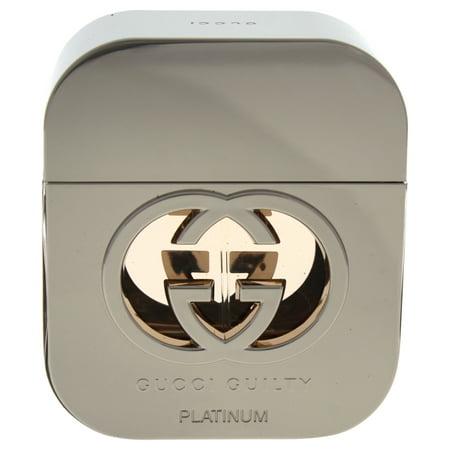Gucci Gucci Guilty Eau De Toilette Spray (Platinum Edition) 1.6 oz