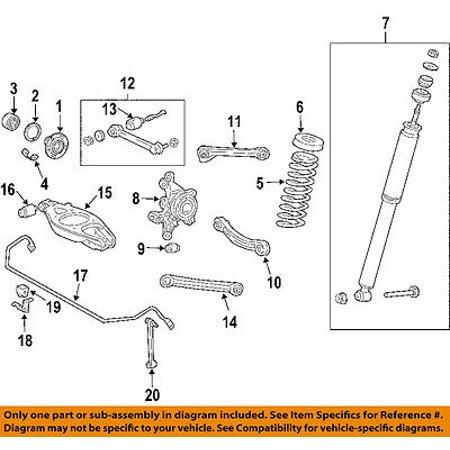 CHRYSLER OEM 04-08 Crossfire Stabilizer Sway Bar-Rear-Bracket Mount -