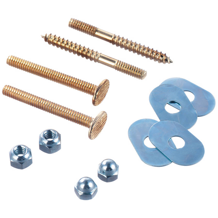 Plumb Craft Waxman 7641900T Toilet Bolt and Screw Set