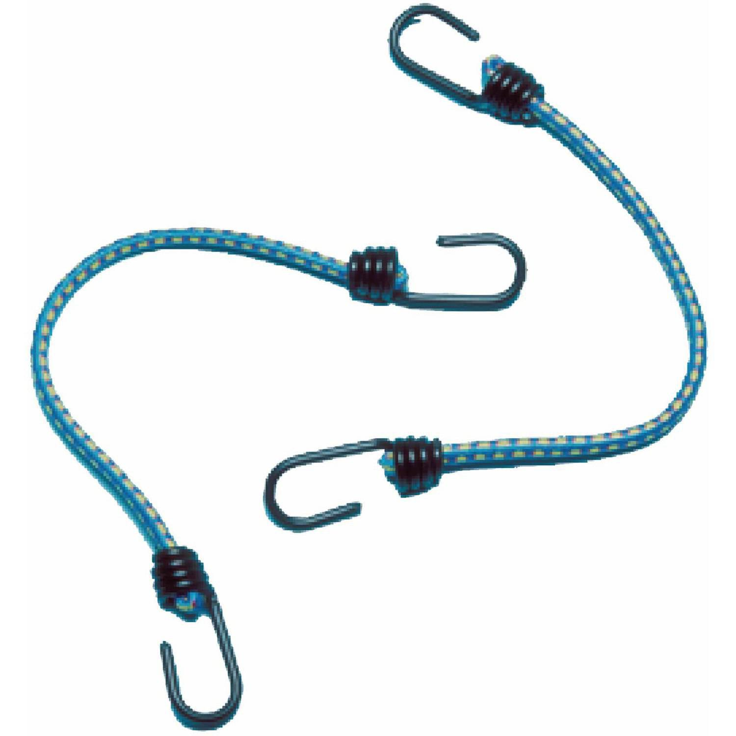 "Sta-Put Marine 5/16"" Universal Bungee with Plastic-Coated Hook Ends, 2-Pack"