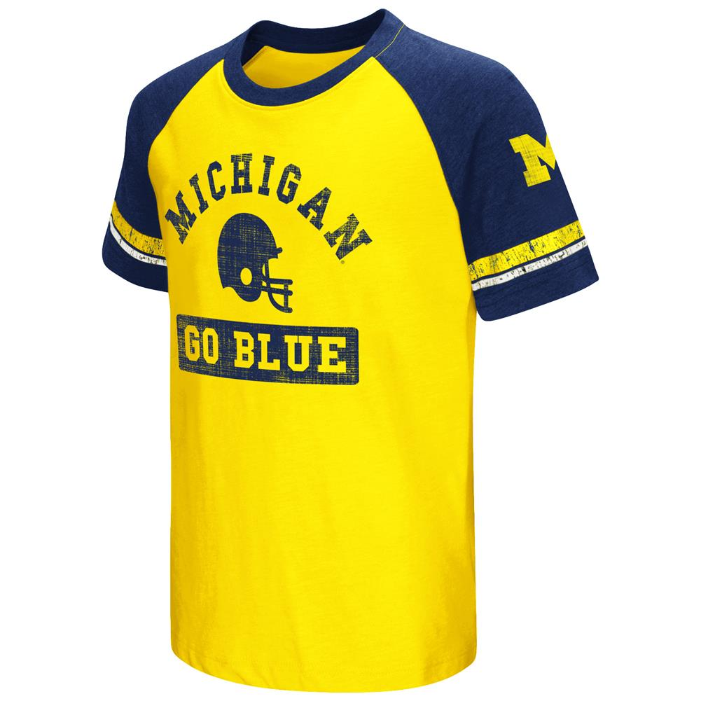 Youth Short Sleeve University of Michigan Wolverines Graphic Tee
