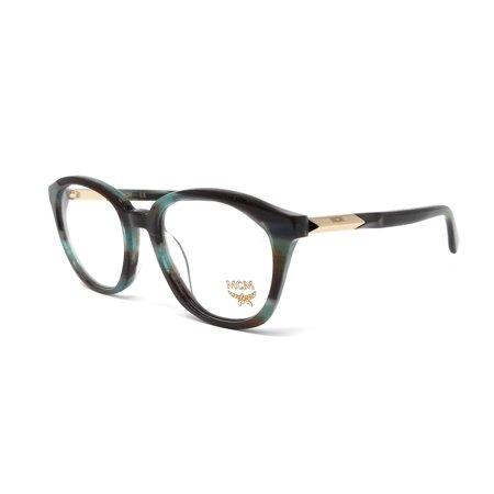 MCM Eyeglasses MCM2612 318 Khaki Horn Oval (Best Eyeglass Frames For Small Oval Face)