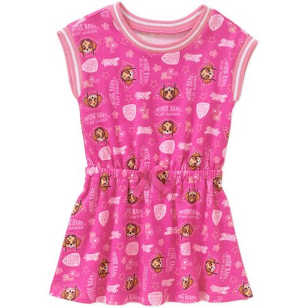 Paw Patrol Toddler Girls' French Terry Sleeveless Dress