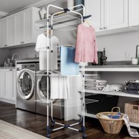 Clothes Drying Rack – 4-Tiered Laundry Station by Lavish Home