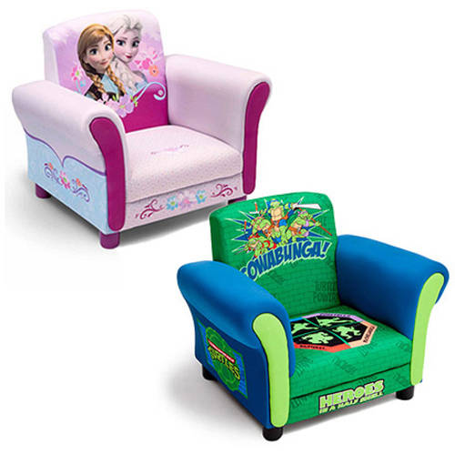 Delta Children's Products Upholstered Chair (Your Choice of Character) with Room Accessory