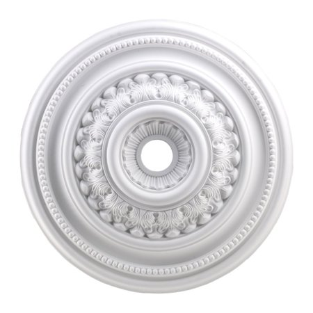 "Elk Lighting English Study 32"" Medallion Ceiling Canopy in White"